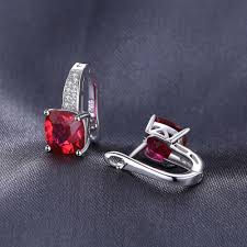 ruby sterling rings images Fashionable ruby sterling silver clip on earrings tooty ta jpg