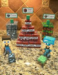 Halloween Party Favor Ideas by Life Among Pirates A Minecraft Halloween Party