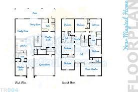 Movie Theater Floor Plan Champions Gate Home Rental Retreat Castle 8br