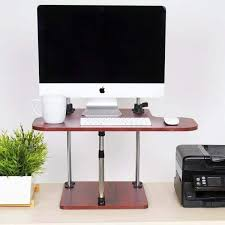 Stand And Sit Desk Uptrak Sit Stand Desk Converter Standing Cherry Steady Uptrakch 538 Jpg V 1520438377