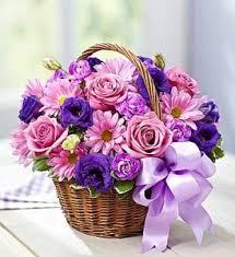 fresh flowers basket of blooms fresh flowers in arlington ma floral designs