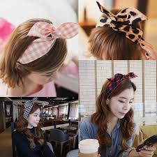 korean headband 2018 2014 korean rabbit style headbands best selling many colors