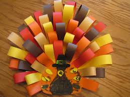 foam turkey craft found the foam turkeys at the craft store made paper loops from