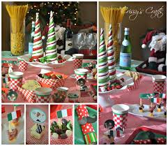 crissy u0027s crafts italian holiday night