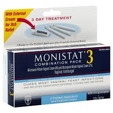 monistat 3 vaginal antifungal cream 3 day treatment combination