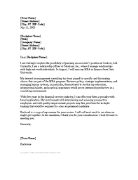 strategy consulting cover letter consultant cover letter