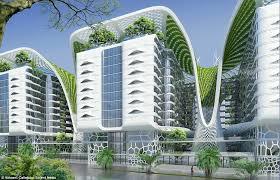 architect designs the ultimate eco building architect designs futuristic billion