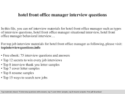 Hotel Front Office Manager Interview Questions 1 638 Jpg Cb 1409697688