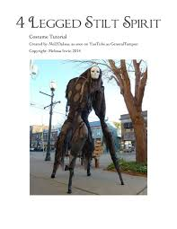 spirit of halloween costume 4 legged stilt spirit halloween costume tutorial as seen on