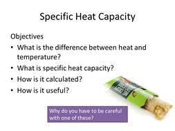 specific heat capacity powerpoint and worksheet aqa gcse 2016 by