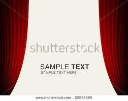 set backgrounds red blue velvet curtain stock vector 132984497