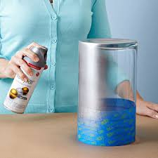 How To Make A Mercury Glass Vase Metallic Painted Vases