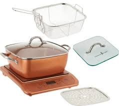 What Cookware Can Be Used On Induction Cooktop Copper Chef Induction Cooktop W 11