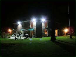 lighting flood lights on house flood lights on two story house