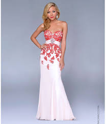 red and white prom dresses u2013 dress ty throughout red and white