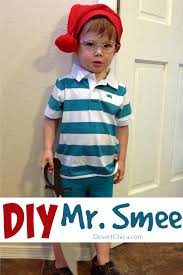 diy mr smee costume for kids peter pan halloween