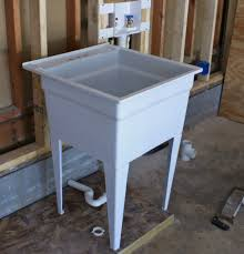 Plumbing A House by Plumbing A Utility Sink Befon For