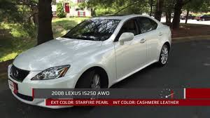 lexus is 250 vs audi s3 2008 lexus is250 awd walkaround exhaust review test drive i