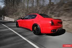 custom maserati granturismo vossen wheels maserati quattroporte vossen cv1