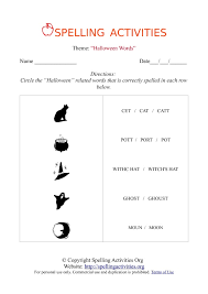 pictures on kindergarten spelling worksheets free printables