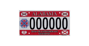 Georgia Flag License Plate States Where Confederate Flag License Plates Are Available