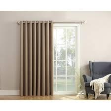 energy efficient sliding glass doors sun zero bartlett room darkening extra wide 100