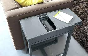 chairside table with charging station end table charging station end table charging station end table with