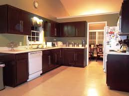 Espresso Kitchen Cabinets What Color Hardwood Floor With Espresso Cabinets