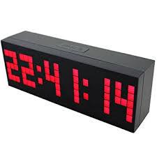 chihai digital led clock wall alarm digital calendar