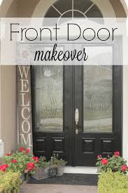 lucky me and a front door makeover mccall manor