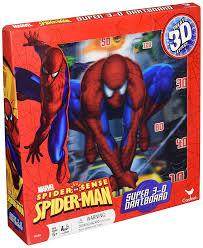 amazon com spiderman super 3d dart game toys u0026 games