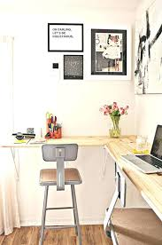 Desk In Small Space Small Wall Mounted Desk One Of The Best Ideas When It Comes To