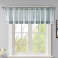 Window Valance Kits Buy Aqua Valances For Windows From Bed Bath U0026 Beyond