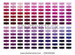 shades of purple color color reference illustration blue purple color stock illustration