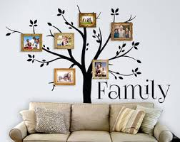 family tree vinyl wall decal furniture home design ideas cool