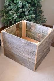 repurposed christmas tree box my creative days