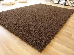 Ikea Teppiche Schlafzimmer Shaggy Langflor Hochflor Teppich Funny Braun Neu Ebay