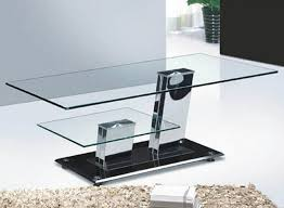 coffee table modern sample glass and chrome coffee tables