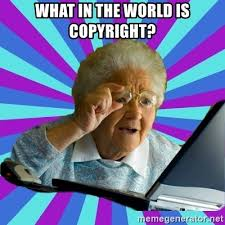 Meme Generator Copyright - what in the world is copyright old lady meme generator