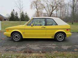 old volkswagen rabbit classic volkswagen cabriolet for sale on classiccars com