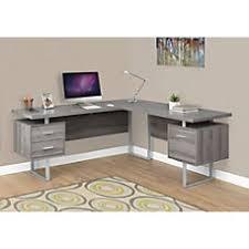 L Computer Desks Corner L Shaped Desks At Office Depot Officemax