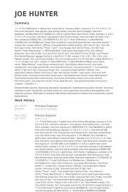 Process Engineer Resume Sample by Principal Engineer Resume Samples Visualcv Resume Samples Database