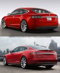 maserati tesla tesla model s facelift u2013 old vs new
