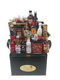 liquor gift baskets sler mini bar gift basket by pompei baskets