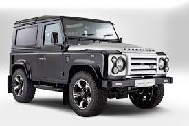 new land rover defender concept overfinch marks anniversary by dragging lr u0027s defender upmarket