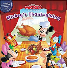 mickey friends mickey s thanksgiving disney book