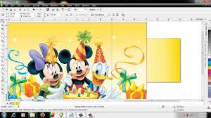tutorial membuat undangan dengan corel draw 12 cara membuat undangan ulang tahun dengan corel draw youtube
