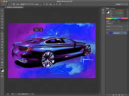 cs6 design photoshop cs6 preview car design