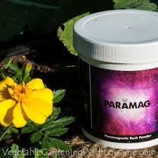 paramagnetic rock dust