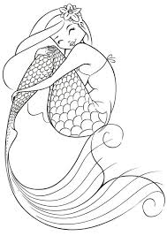 free mermaid coloring pages coloring
